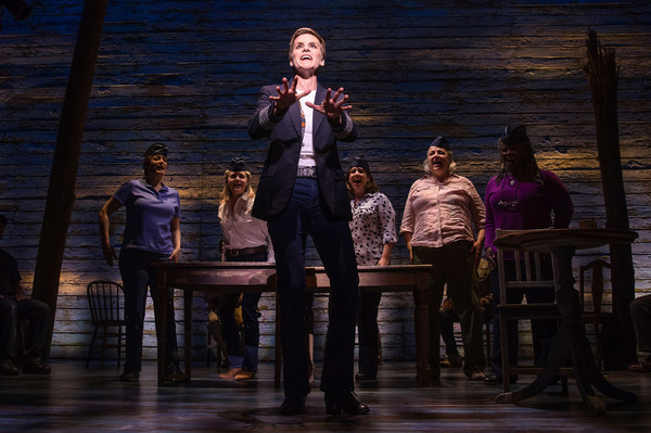 Come From Away Production Photo - Jenn Colella and the cast of COME FROM AWAY
